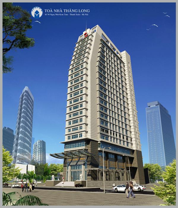Thanh xuân cho thuê văn phòng tòa Thăng Long Tower