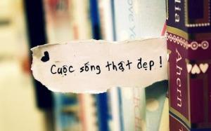 cuoc song tuoi dep
