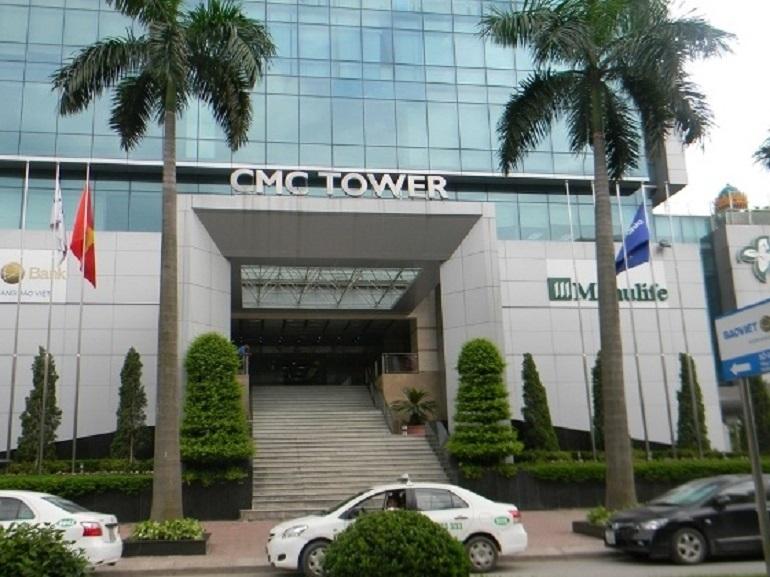 Cho thuê sàn văn phòng tòa nhà CMC- Duy Tân- Hà Nội