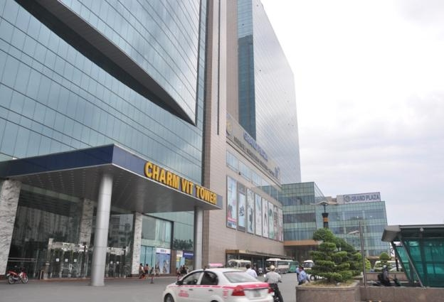 Cho thuê văn phòng Hạng A tòa nhà Chamrvit Tower