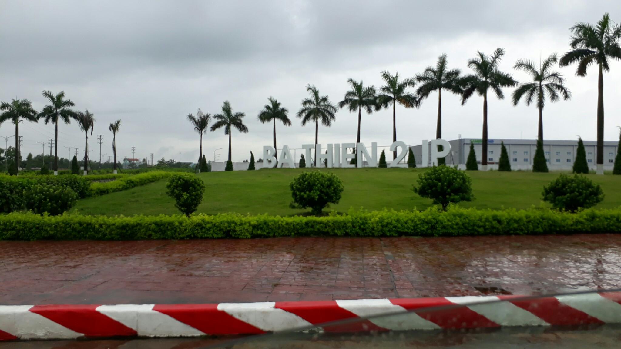 Cho thuê đất công nghiệp tại KCN Bá Thiện II Vĩnh Phúc