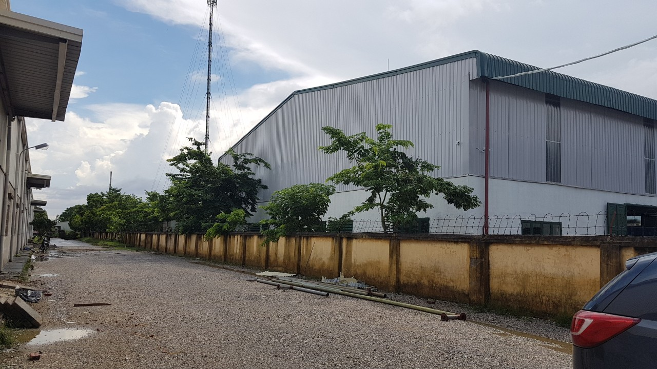 Cho thuê kho nhà xưởng mới tại Thuận Thành Bắc Ninh