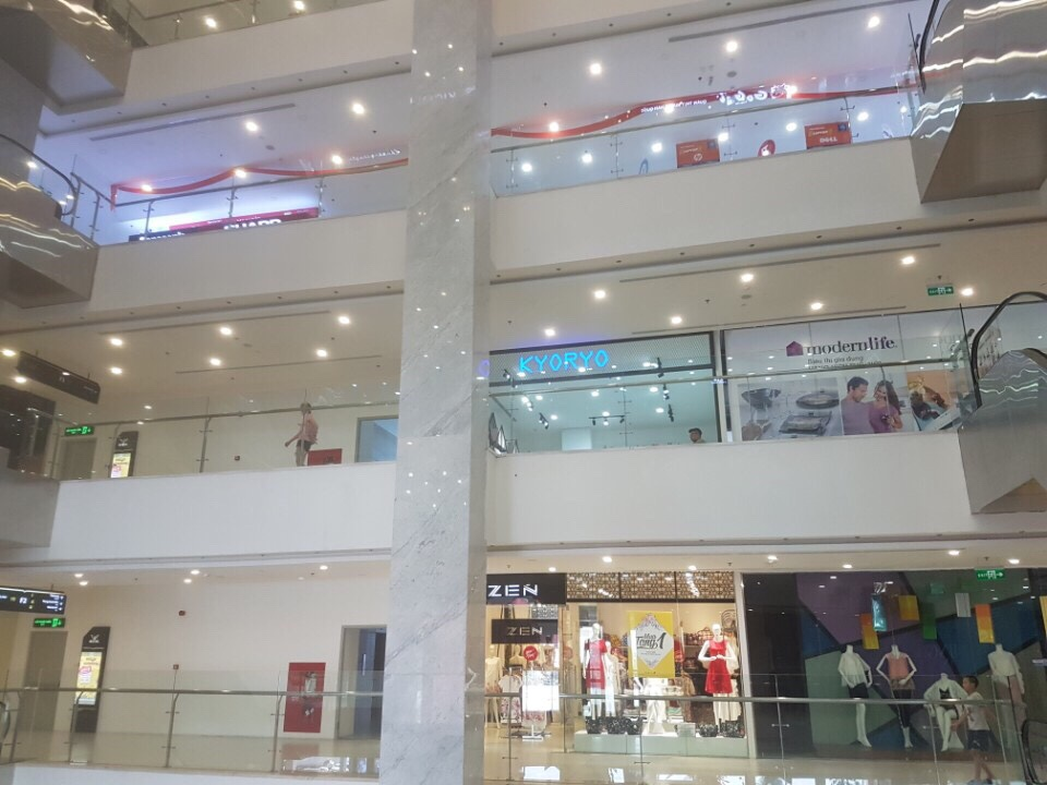 Cho thuê sàn trung tâm thương mại tại Hà Nội