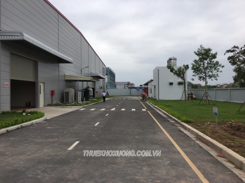 Cho thuê nhà xưởng Hưng Yên – KCN Phố Nối